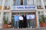 Tokat Yurtayder'den Belediye Başkanımıza Teşekkür Ziyareti